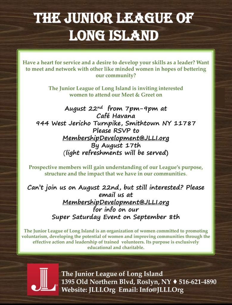New Member Meet Greet Junior League Of Long Island
